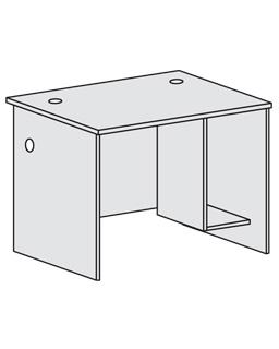 Письменный стол с тумбой под системный блок