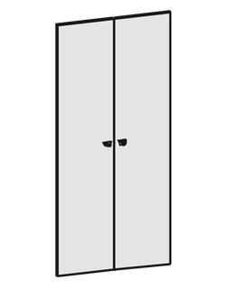Щитовые двери (2 створки)