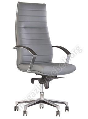 Кресло IRIS wood CHROME