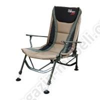 Кресло раскладное карповое Fishing ROI с подлокотником